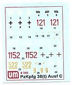 UM PzKpfw 38t