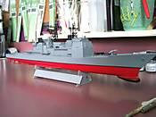 Mother's USS Ticonderoga CG-47 (in progress) 012