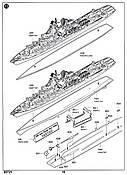 Trumpeter Slava Class Cruiser - 020