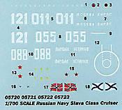 Trumpeter Slava Class Cruiser - 021