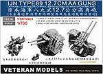 Veteran Models IJN Type 89 12.7 cm