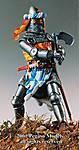 54-095 German Knight with waraxe 1350-70