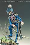 90-020 Light Dragoon Officer, G.B. 1815