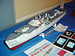 The ships of ModelMania 2007