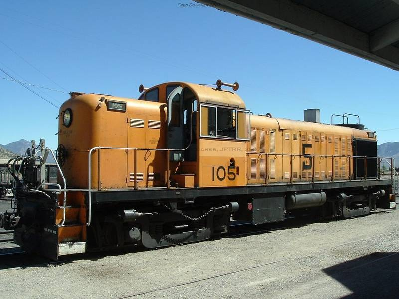 Nevada Northern Railway Museum: Diesel Locomotive, Alco RS3 No.105