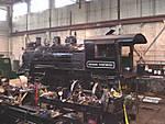 Nevada Northern Railway Museum: Enginehouse & Shop