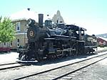 Nevada Northern Railway Museum: Steam Locomotive, 1910 Baldwin 4-6-0 No. 40