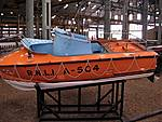 RNLB 10. A504, A McLachlan class inshore lifeboat of 1970, stationed at Wes