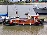 RNLB 12. Mary Gabriel, Rother twin-screw of 1973, she is in full working or