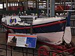 RNLB 8.Lizzie Porter, a horse drawn carriage launched self-righting lifeboa