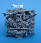 Resicast Sherman M4A4 Chrysler Multibank Engine