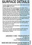 Archer_SurfaceDetailsInstructions