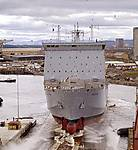RFA Mounts Bay was launched on 9 April 2004 from BAE Systems' Govan yard.