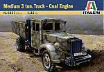Italeri 6457 Medium 3 t. Truck - Coal Engine