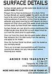 Archer_SurfaceDetailsInstructions