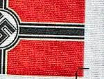 Kriegsmarine flag Detail
