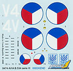 Eduard_AviaB534_Weekend_Decals