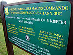 Ouistreham - Memorial to Nº 4 Commando
