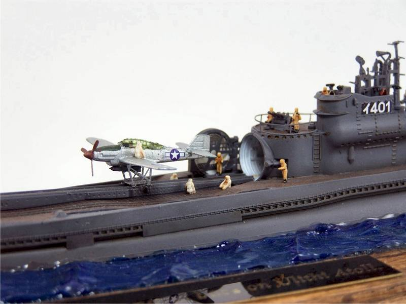 KitMaker Network :: IJN I-400 Class Submarine by Kenny Loup
