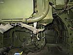 TBM-3 hydraulics system under gun turret