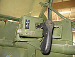 .50 caliber turret control and firing handle